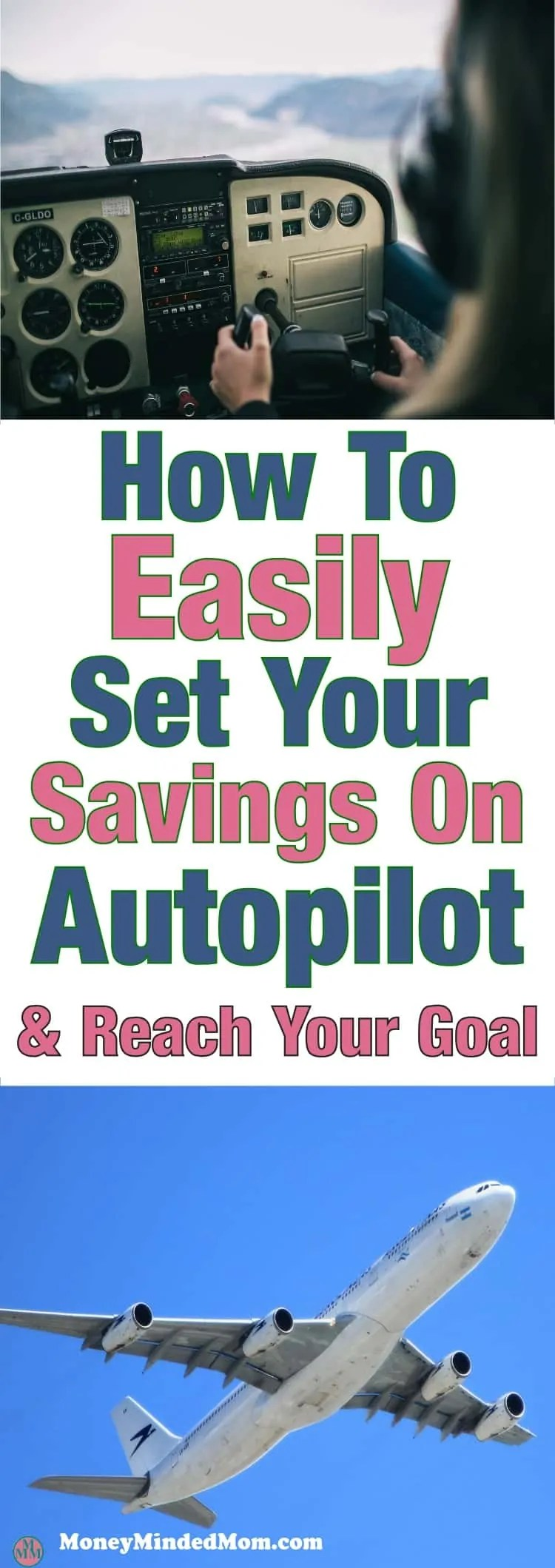 Put Your Savings On Autopilot ~ Putting a little money away for a rainy day isn't always easy. You may have some good intentions but just never get it done.  Saving   money saving tip   how to save money   budgeting   how to budget   Finance #savingmoney #moneysavingtips #savemoney