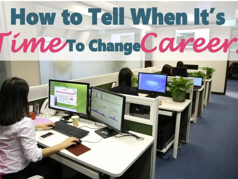 How to Tell if It's Time To Change Your Career ~ Changing careers is a big decision. There are many things you need to consider before taking the leap. Click on over to learn more. career | job | changing jobs | change career