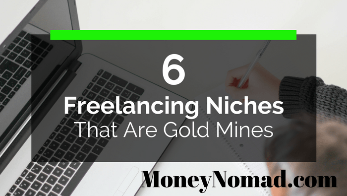 6 Freelance Writing Niches That Are Gold Mines