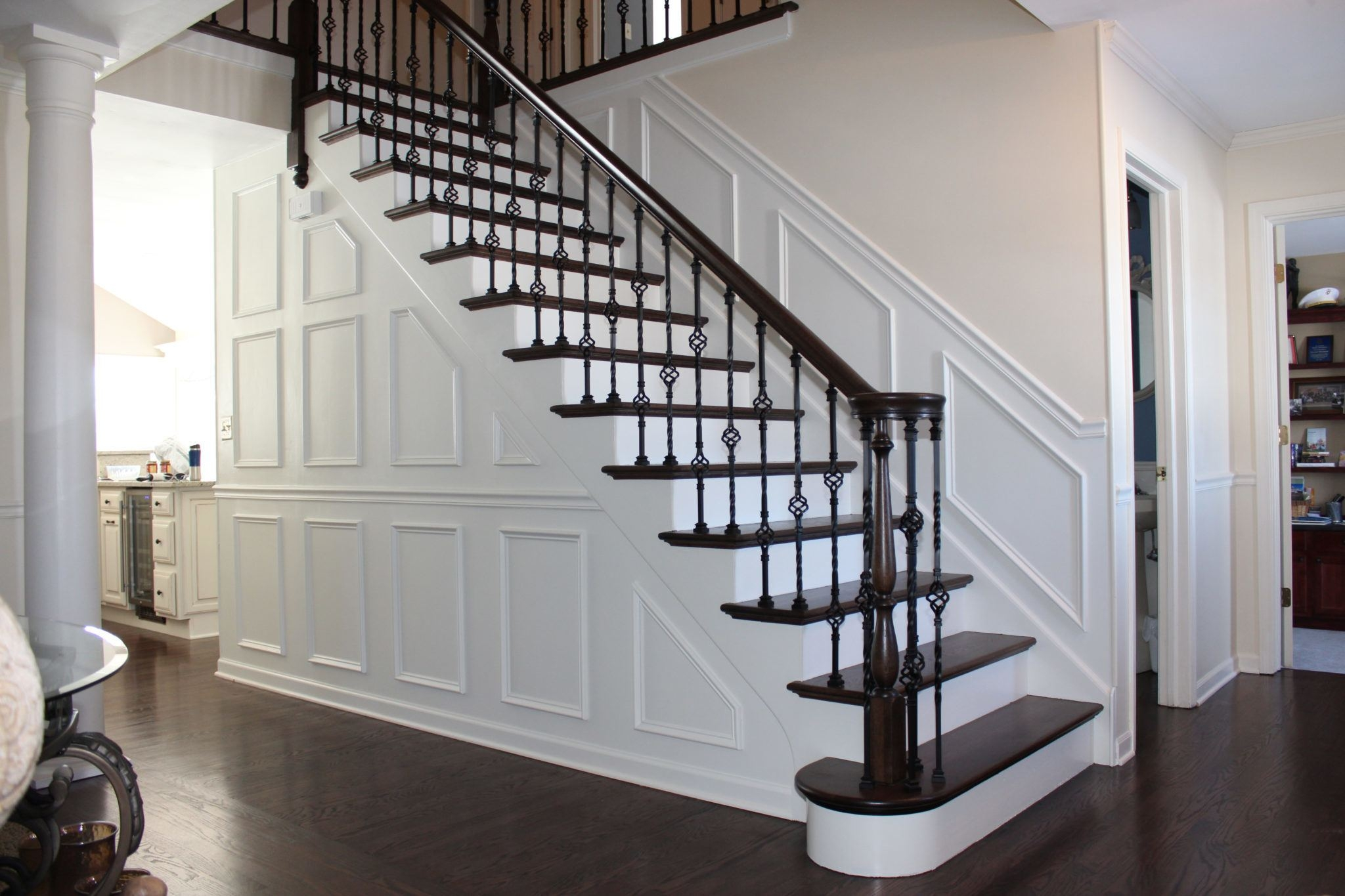 5 Stunning Stairway Trends For Your Home The Money Pit   New Banister For Stairs   Stainless Steel   Traditional   Oak   Contemporary   Indoor