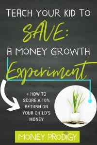 Get kids to listen to you about money, mom, by having them discover what you're trying to teach them on their own using this idea. You'll teach children to WANT to put money into a savings account after they go through this EYE-OPENING, hands-on money growth experiment. Kids save money? What a novel idea. | http://www.moneyprodigy.com/money-growth-experiment-to-teach-children-to-save/