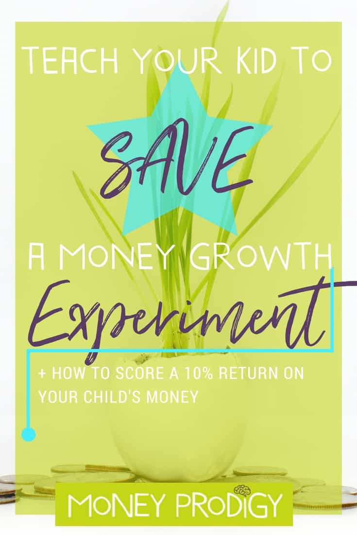 Teach children to save using this EYE-OPENING, hands-on money growth experiment. | http://www.moneyprodigy.com/money-growth-experiment-to-teach-children-to-save/