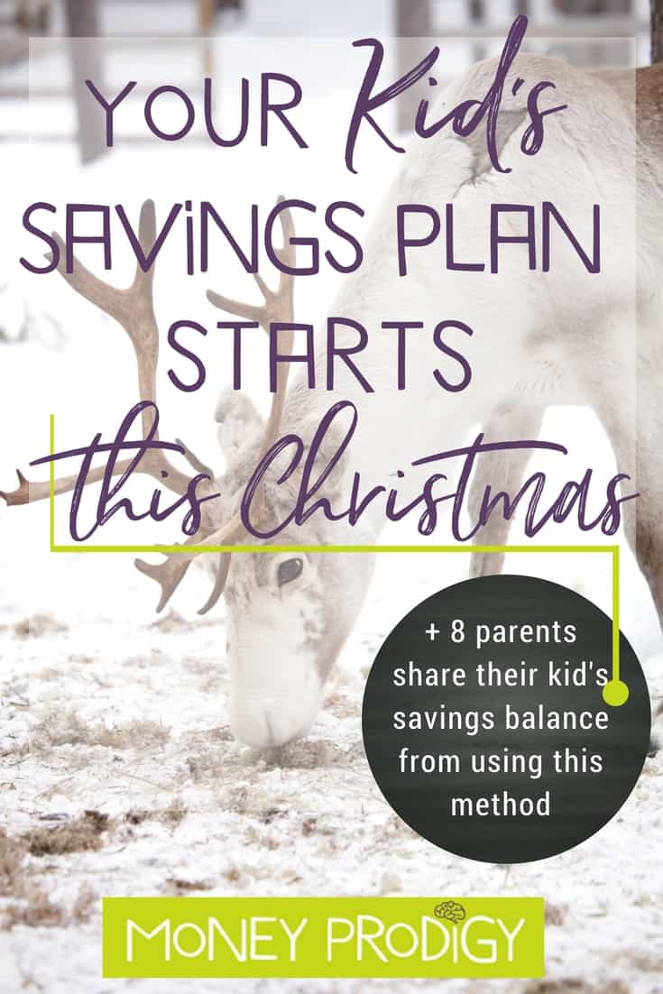Your kid savings plan: it starts this coming Christmas or even on their birthday. Plus I interview 8 moms (1 father) who have been using this method since birth, and they reveal how much savings their child has accumulated. Money challenge met! Savings plan for child. | https://www.moneyprodigy.com/savings-plan-for-child/