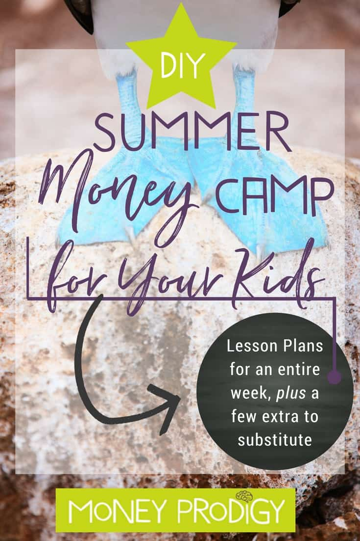 Here's your kid's summer camp activities list for money camp (includes lesson plans). DIY money camp this summer with this done-for-you schedule over one week (bonus: an extra lesson plan in case you'd like to substitute!). | https://www.moneyprodigy.com/done-diy-money-summer-camp-kids-one-week-schedule-example/