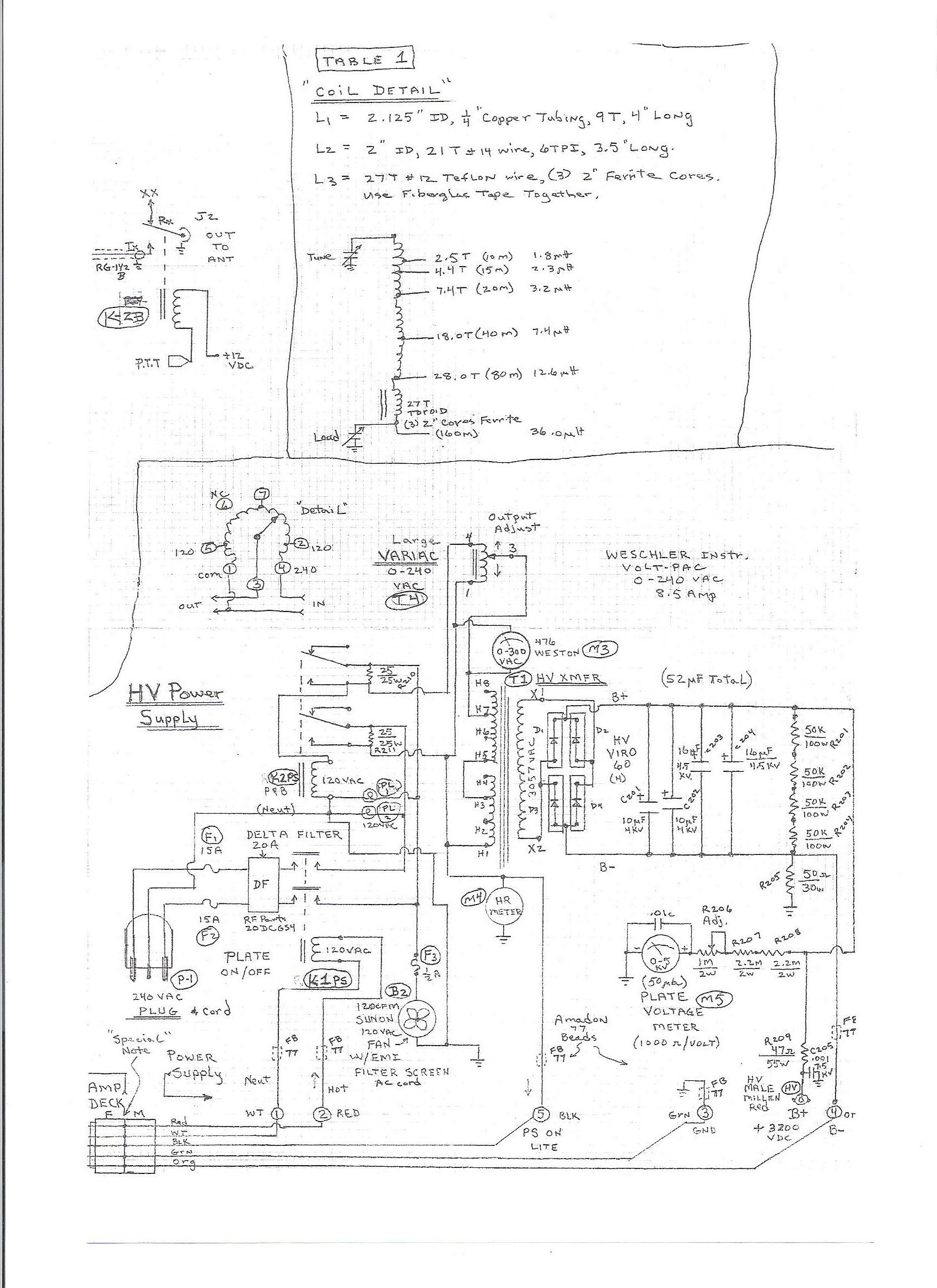 high voltage power supply