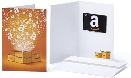 Amazon Gift Cards - No Fees