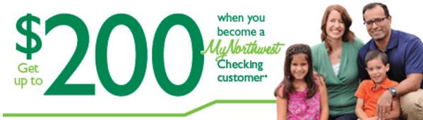 Northwest Savings Bank $200 Checking Bonus