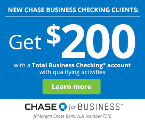 Chase Business Checking $200 Bonus 2