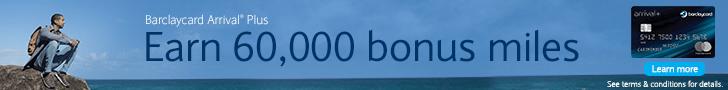 Barclaycard Arrival Plus $600 Bonus
