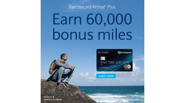 Barclays Arrival Plus Card Bonus