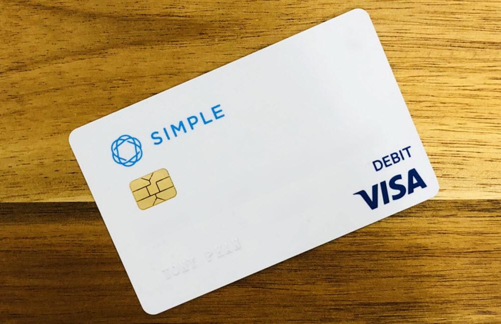 My Simple Bank Card