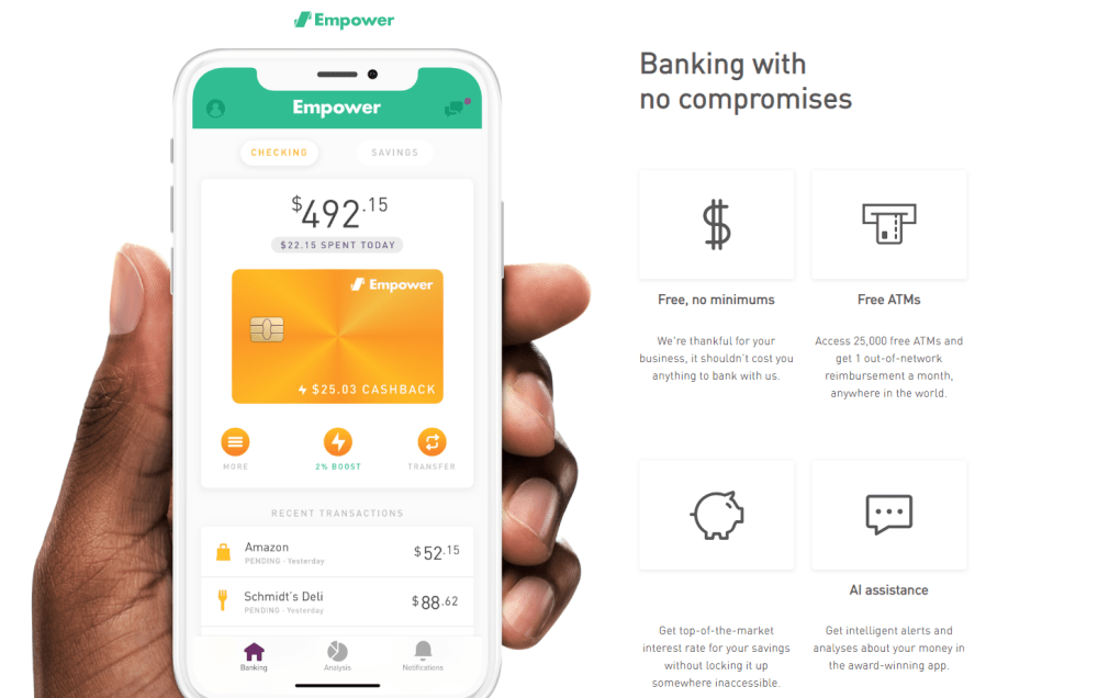 Empower Banking Offers