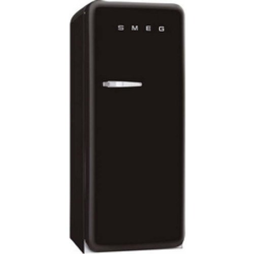 smeg fab28rne1 r frig rateur armoire pose libre 248l classe a noir. Black Bedroom Furniture Sets. Home Design Ideas