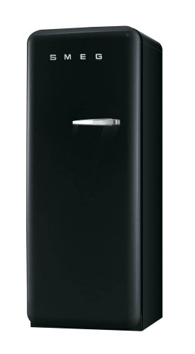 smeg fab28lne1 r frig rateur 1 porte 248 l classe a noir. Black Bedroom Furniture Sets. Home Design Ideas