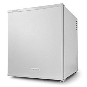 Klarstein - Mini frigo de bar encastrable - Mini réfrigérateur style hôtel et restaurant - (48 litres, environ 32 bouteilles) - Blanc cassé