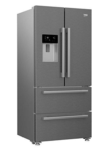 beko gne60530dx frigo am ricain frigos am ricains autonome argen. Black Bedroom Furniture Sets. Home Design Ideas