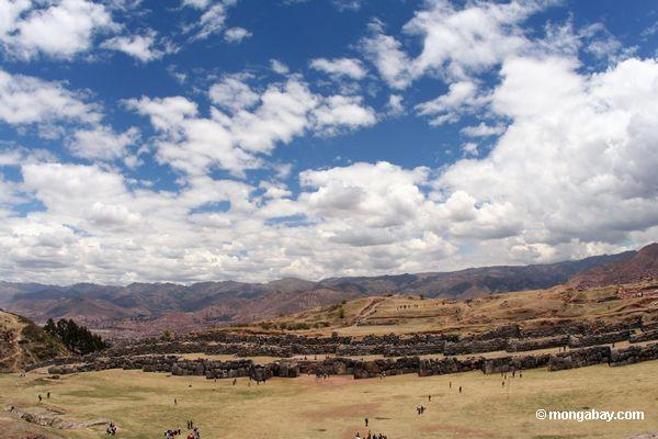 Ruins of Sacsayhuaman outside of Cuzco