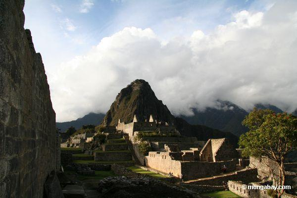 Machu Picchu with Huayna Picchu in background