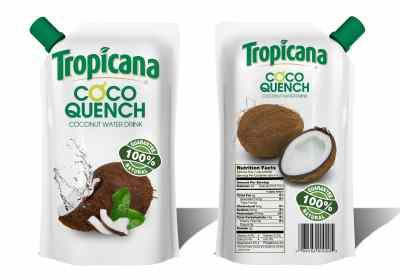 Tropicana Coco Quench Mockup