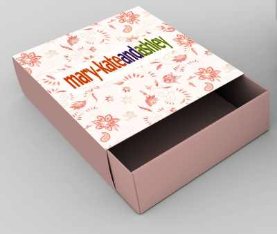 Mary-Kate and Ashley Mockup Clothing Box