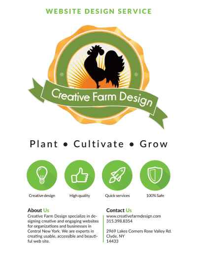Creative Farm Design Marketing Package