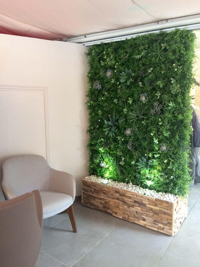 Cloison Vegetale Interieure Stunning Le Mur Vgtal En