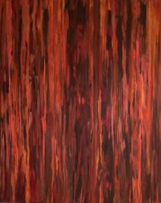 """Rosso"" Olja, 100x81 cm"