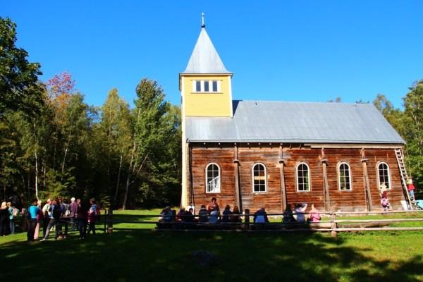 Naissaare turism: Naissaare kirik, september 2014