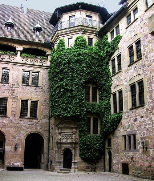 Castle Neuenstein, Wurttemburg, Germany