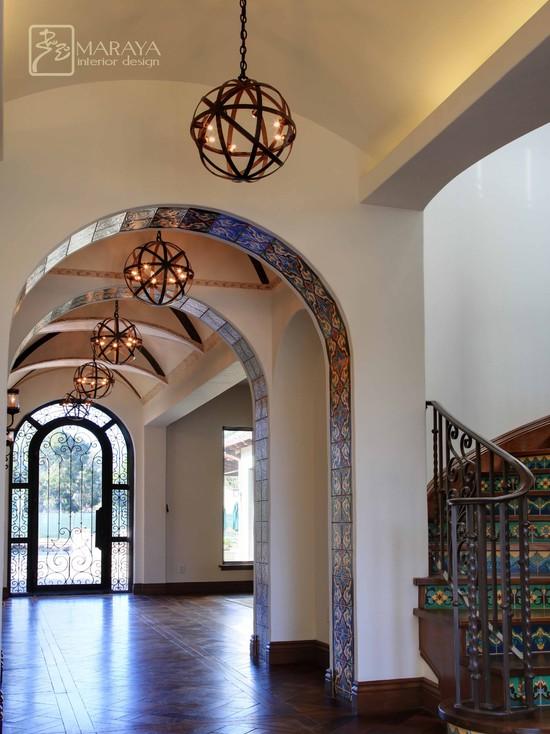 Spanish Santa Barbara Entry Foyer Hall (Los Angeles)
