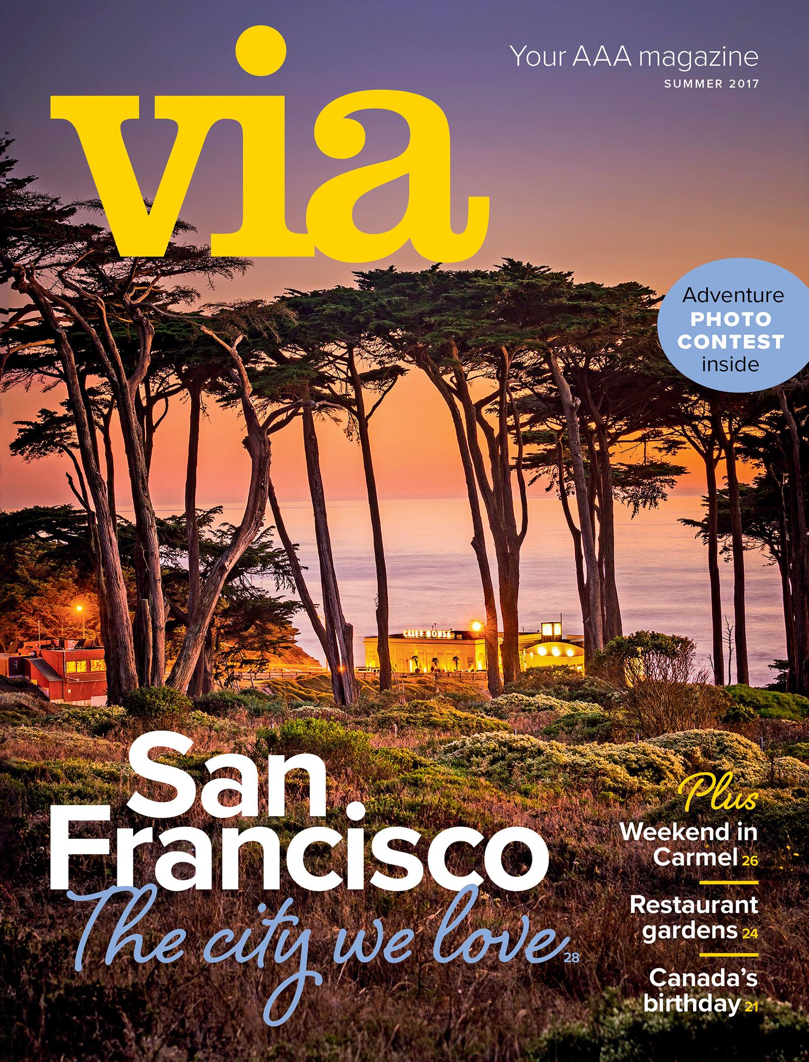 Summer 2017 Via cover