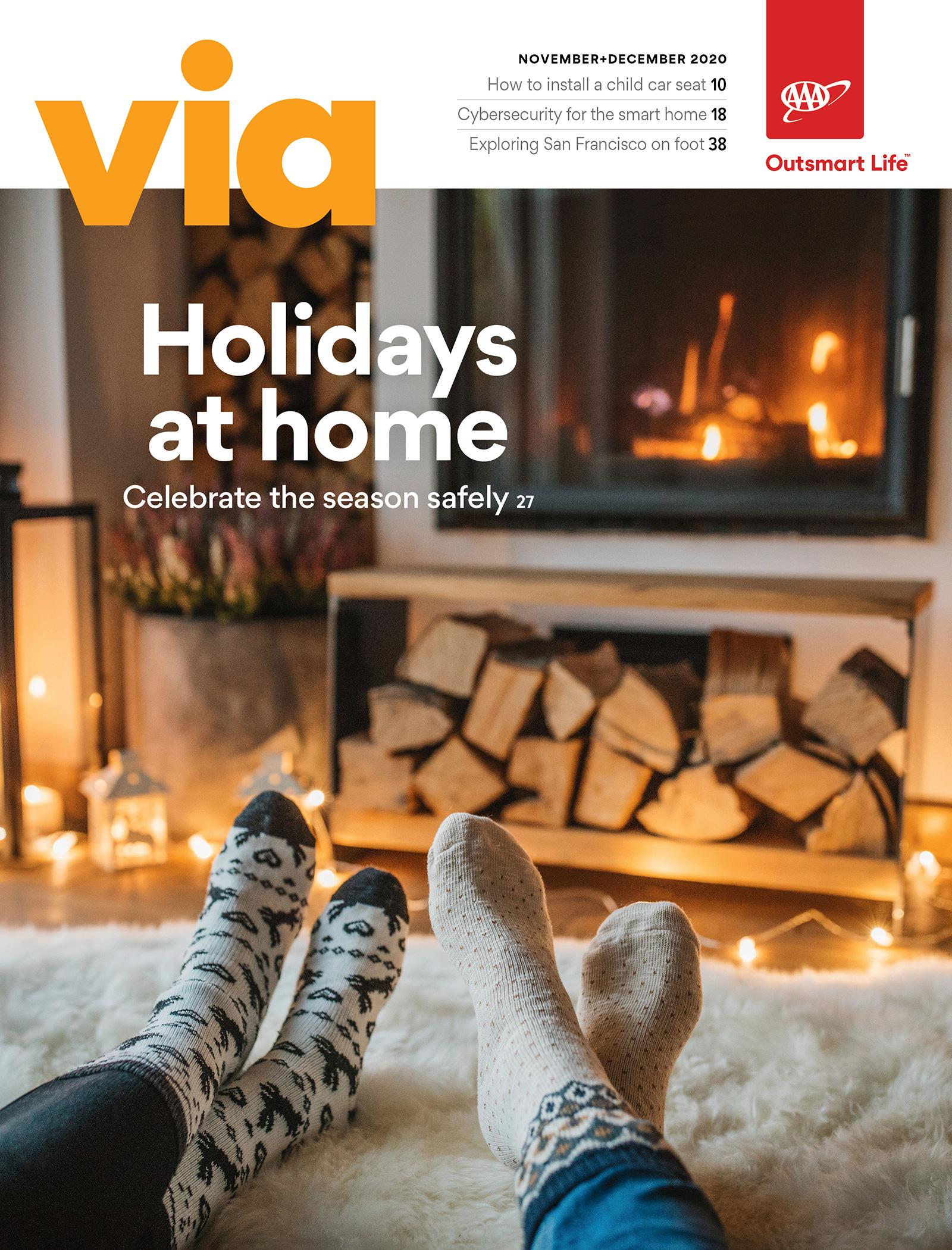 November + December 2020 VIa cover