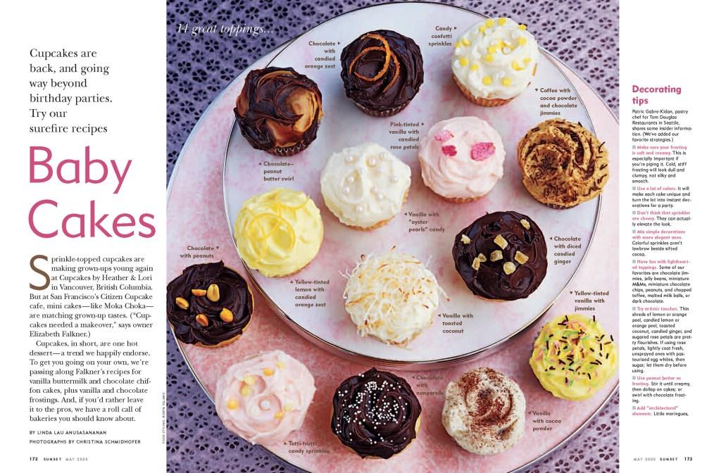 Baby Cakes spread