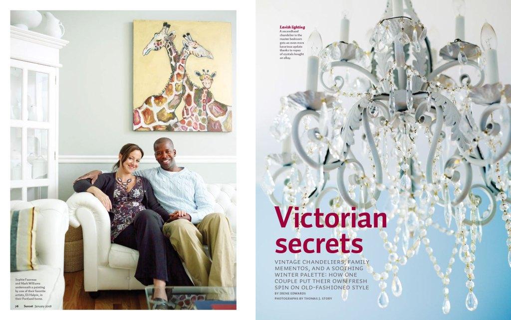 Victorian Secrets spread