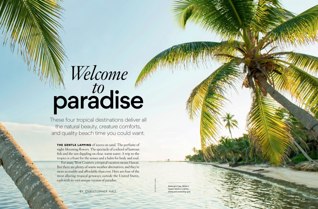 Welcome to Paradise spread