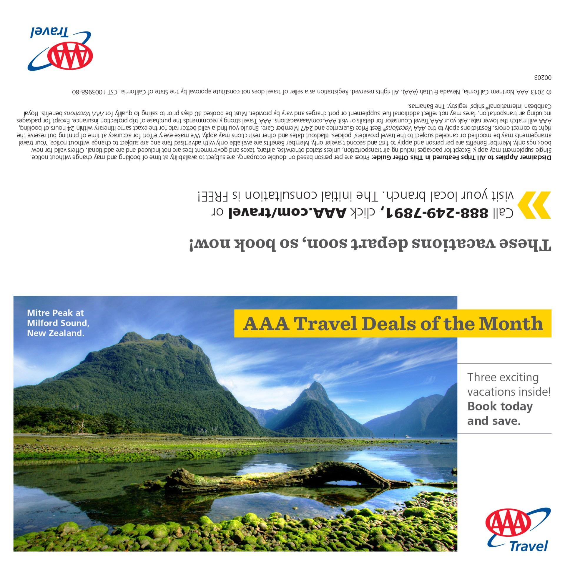 January 2012 AAA bill insert (front)