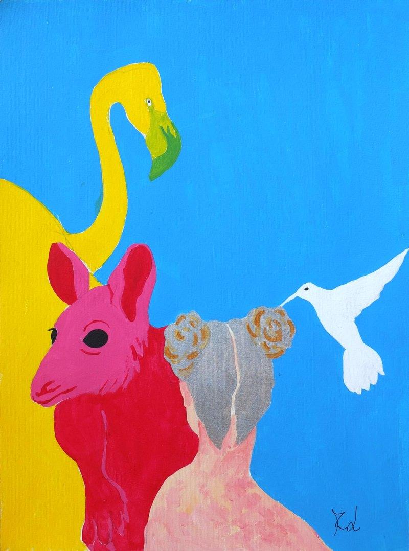 Acrylic Painting | Monica Lerda