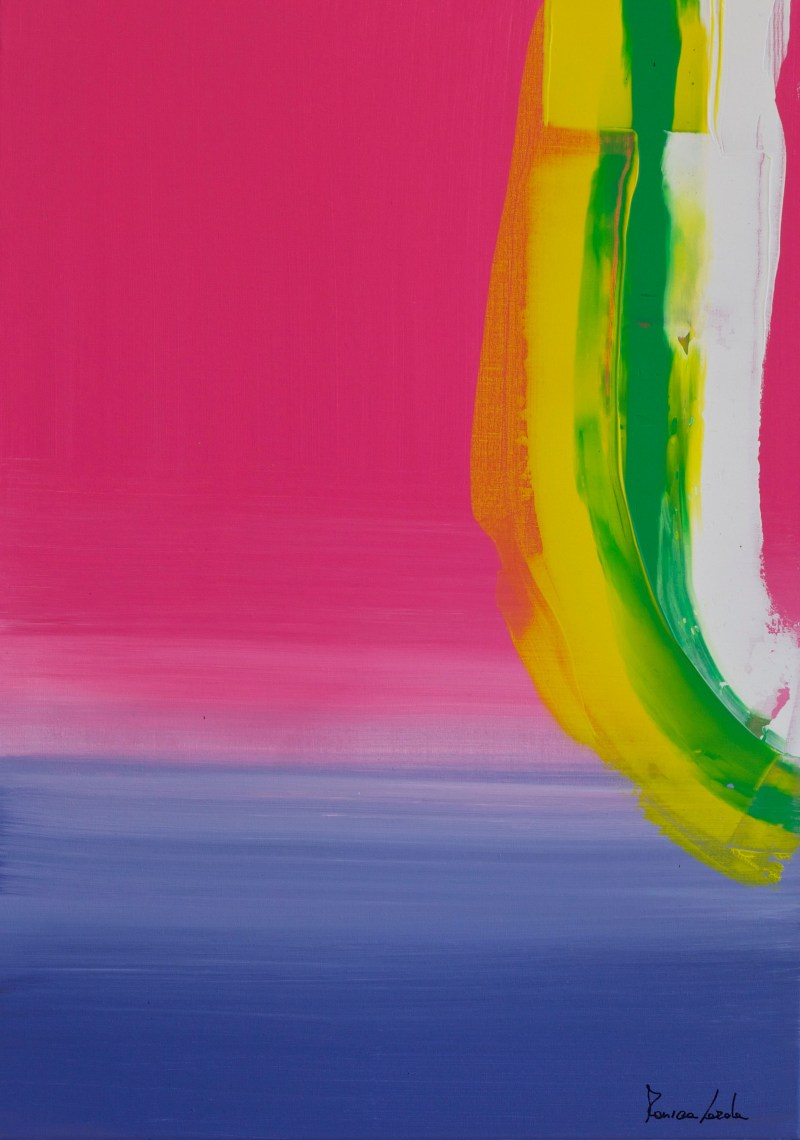 Abstract landscape   Monica Lerda   11