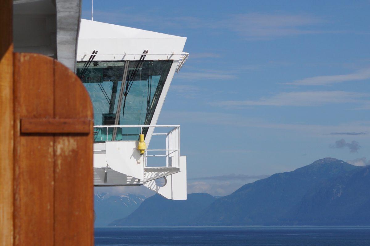 Coisas que só no Alaska...e comer muito King Crab em Juneau. Hum!