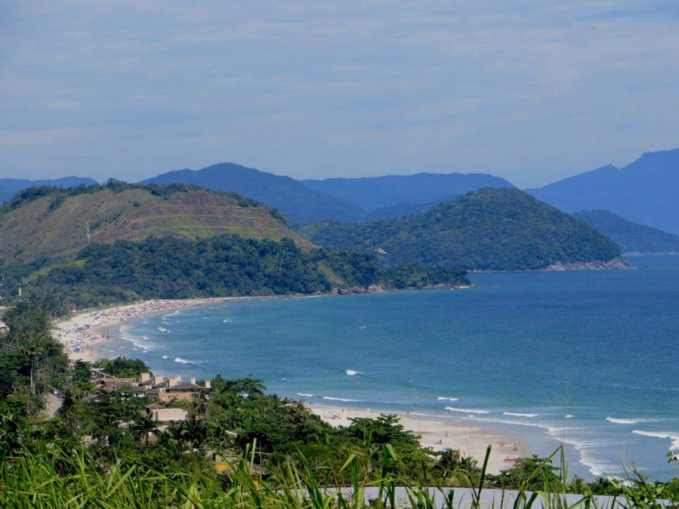 Praia de Juquehy, litoral norte sp