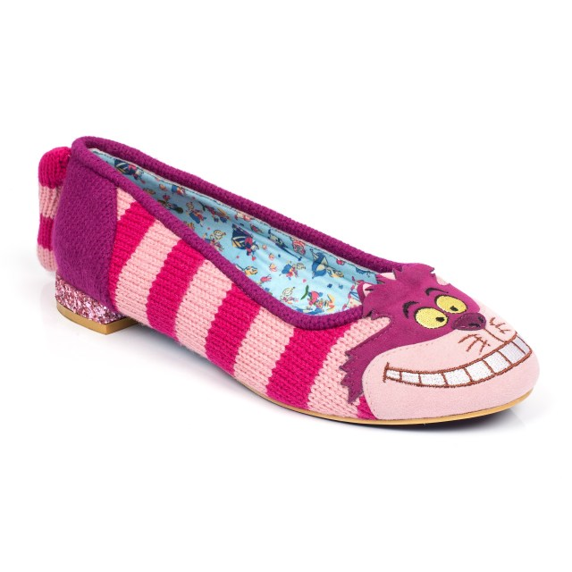 Cheshire Cat Flat Shoes