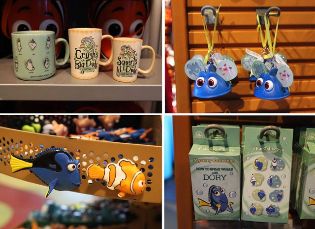 Finding Dory Merch