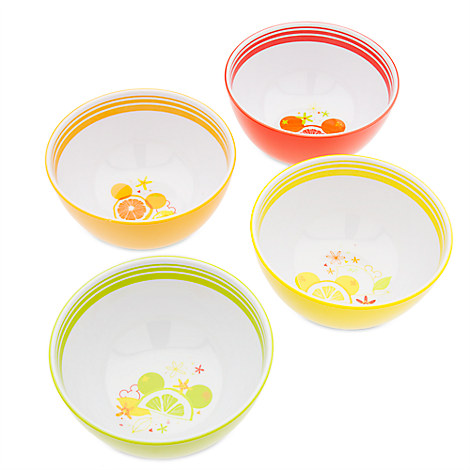 Available in a cocktail of fruity colors the set of melamine dishes are part of our deliciously fun Citrus Collection. Mickey Mouse ...  sc 1 st  Monicau0027s Mad Tea Party & Brighten Up Your Kitchen With the New Mickey Mouse Citrus Collection ...