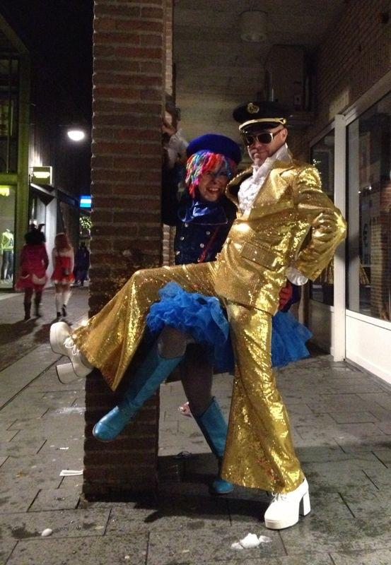 Glitter & Blauw!