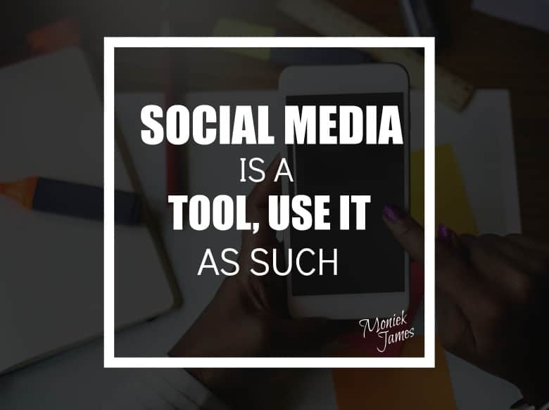 Use social media as a business tool
