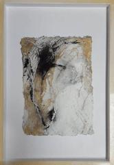 Kalahari - Seidelbastpapier, Baumaterial, Sumpfkalk, Tuschen, Pigmente - 50 x 70 cm – Kunstfabrik Hannover