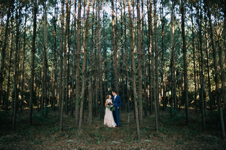Boho Wingate Plantation Wedding