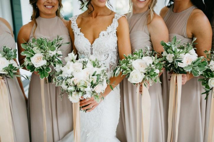 Lowndes Grove Plantation bridesmaids