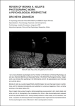 Review of Monika K. Adler's Photographic Work: A Psychological Perspective   Drs Kevin Zdaniecki