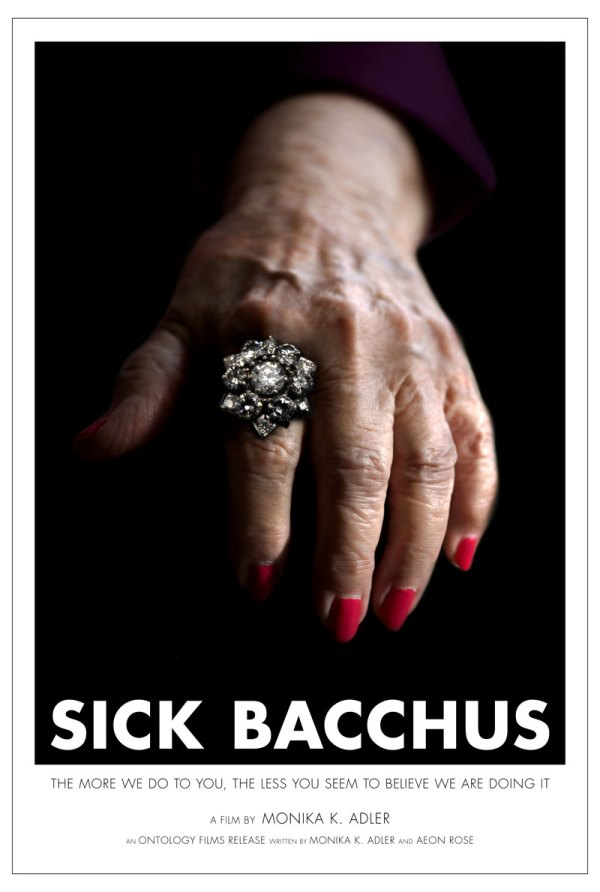 Sick Bacchus Movie Poster, concept poster, Directed By: Monika K. Adler, Ontology Films, ScreenplayMonika K. Adler, Aeon Rose
